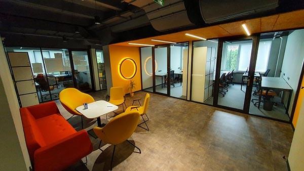 офіс в бізнес центрі