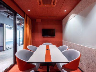 переговорная комната для 6 человек